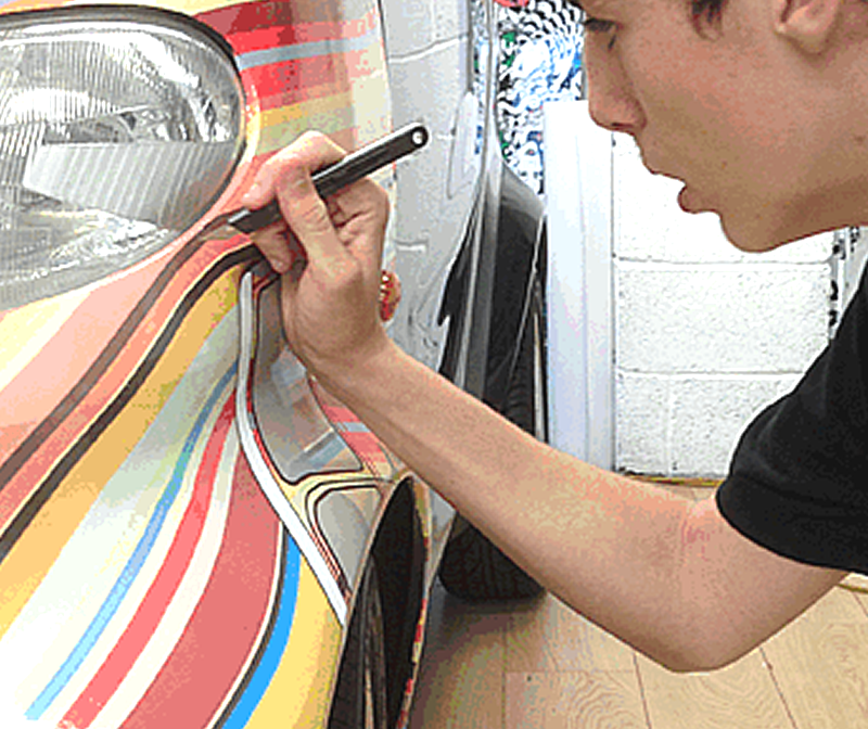 Our vehicle graphics printing service ensures your vehicles match your business brand.